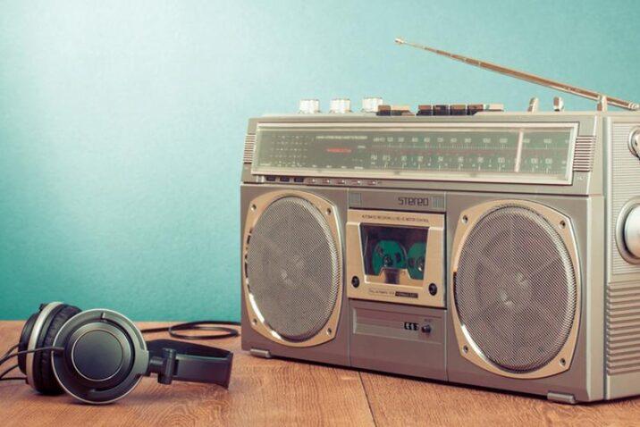 STOCK Radio Headphones