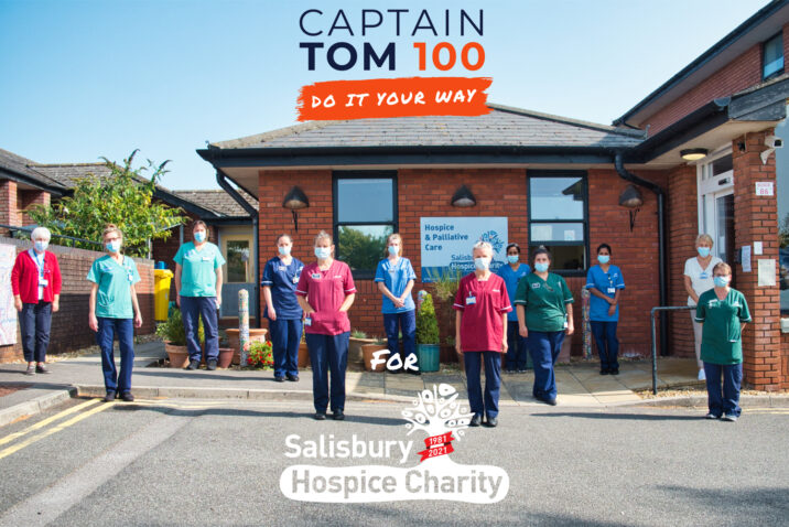 Captain Tom 100 Salisbury Hospice Charity