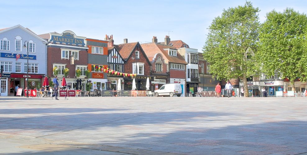 Market Place Salisbury
