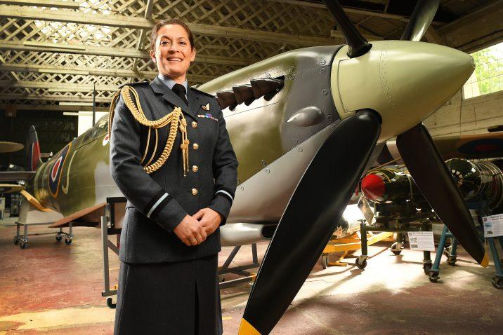 Air Commodore Suraya Marshall PHOTO: Russell Sach